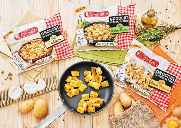 y'a du nouveau - Gamme de gnocchi de pommes de terre Pom Bistro
