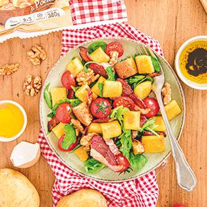Salade de gnocchi périgourdine Pom Bistro